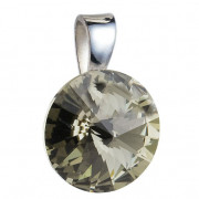 Prívesok Swarovski 34112.3 Bl. diamond