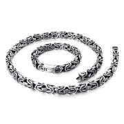 Súprava pánskych šperkov chirurgická oceľ WJHN100