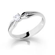 Zásnubný prsteň so zirkónmi 2122