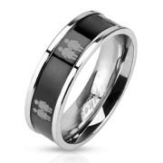 Oceľový prsteň 3041-Žena