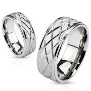 Oceľový prsteň Spikes 2621