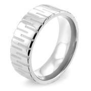 Oceľový prsteň 001