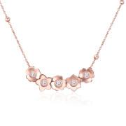 Dámsky náhrdelník se Swarovski elements Brosway Ikebana BKE08