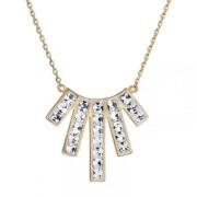 Swarovski elements náhrdelnik 32024.1 krystal Au
