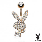 Piercing do pupiku Playboy 025RD-CZ