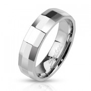 Oceľový prsteň Spikes 2505
