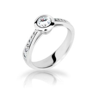 Strieborný prsteň 2124