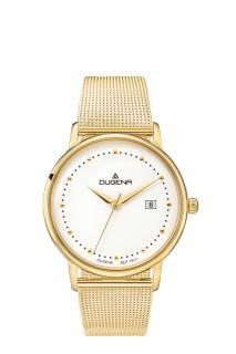 Zlate dámske hodinky Dugena Mila 4460792-MB02