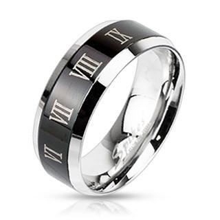 Oceľový prsteň Spikes 2312