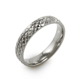 Oceľový snubný prsteň MCRSS021