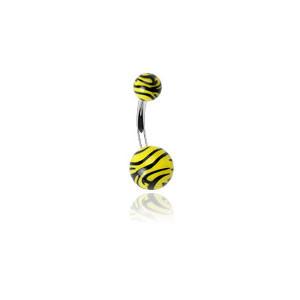 Piercing pupka 0204-yellow