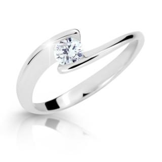 Dámsky prsteň so zirkónom 2037