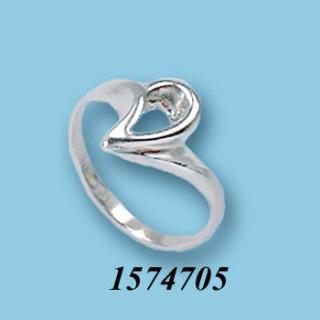 Strieborný prsteň 1574705