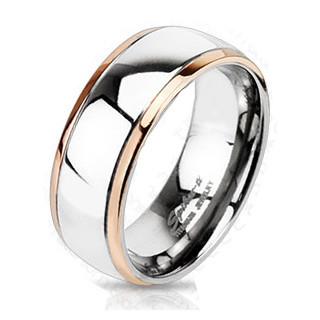 Titánový prsteň Spikes 3183