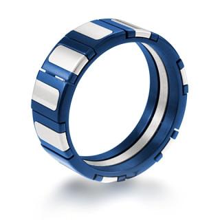 Oceľový prsteň 004