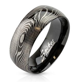 Oceľový prsteň Spikes 2782