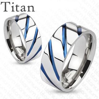Titánový prsteň Spikes 4381