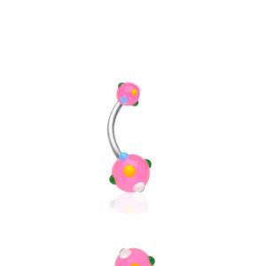 Piercing pupku 1622-ROSE
