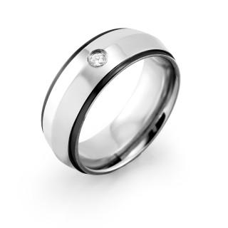 Oceľový prsteň MCRSS019
