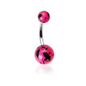 Piercing pupku 012-ROSE