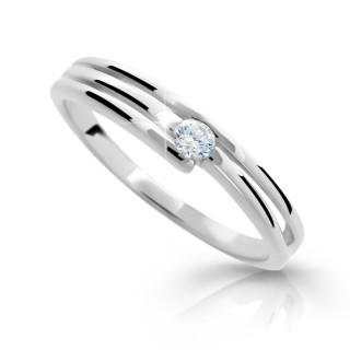 Dámsky prsteň so zirkónom 1717