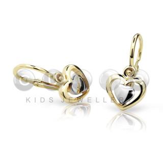 Zlaté detské naušnice C1604ZB