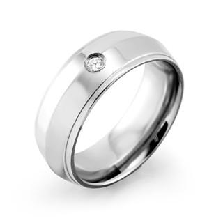 Oceľový prsteň MCRSS011