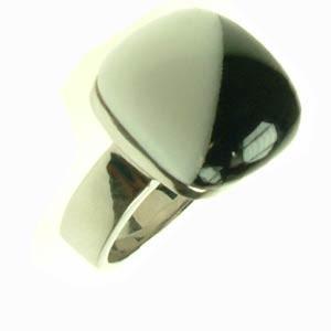 Oceľový prsteň R1232