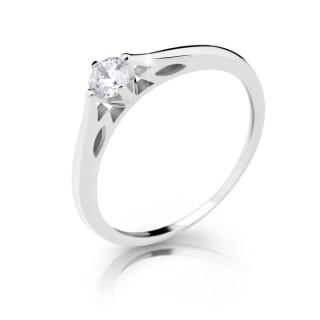 Dámsky prsteň so zirkónom 2411