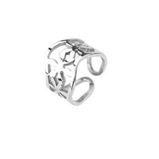 Oceľový prsteň Spikes 0013