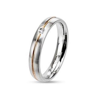Oceľový prsteň Spikes 2127