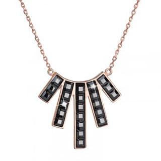 Swarovski elements náhrdelnik 32024.5 hematite AuR