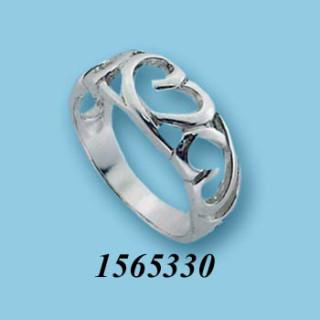 Strieborný prsteň 1565330