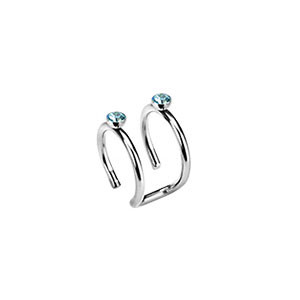 Piercing ucha 05-AQUA