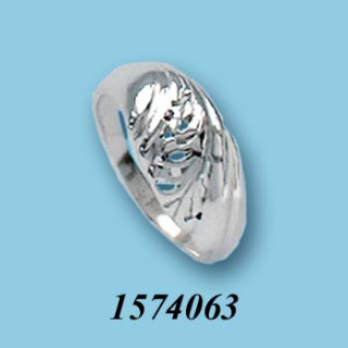 Strieborný prsteň 1574063