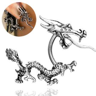 Piercing do ucha 1334-Dragon