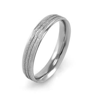 Oceľový snubný prsteň MCRSS022