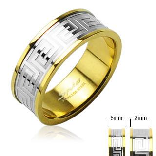 Oceľový prsten Spikes 98