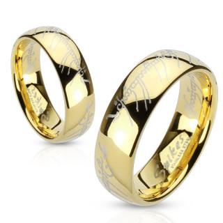 Oceľový prsteň Spikes 2764