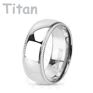 Titánový prsteň Spikes 3638