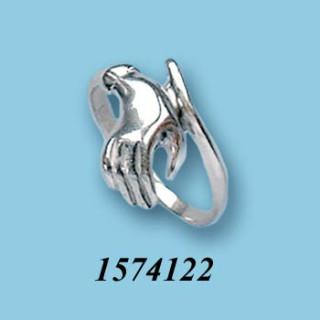 Strieborný prsteň 1574122