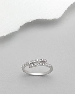 Strieborný prsten 3025