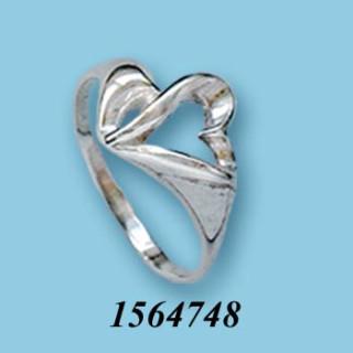 Strieborný prsteň 1564748
