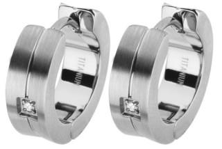 Dámske náušnice so zirkónmi SEE003-Z2
