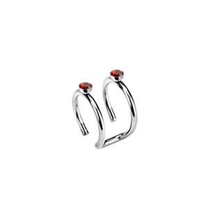 Piercing ucha 05-RED