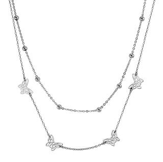 Oceľový náhrdelník MCNSS007