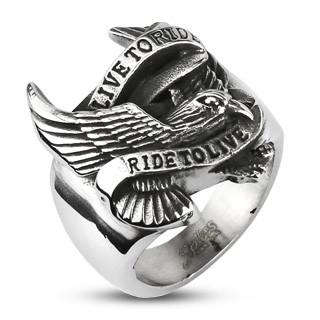 motorkársky prsteň 11894