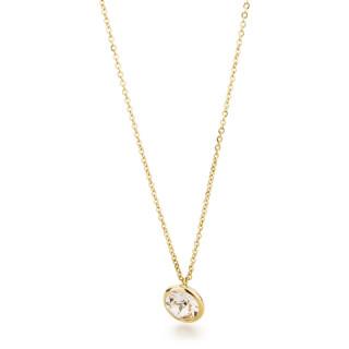Oceľový náhrdelník s kryštálom Swarovski Brosway N-Tring BTN44