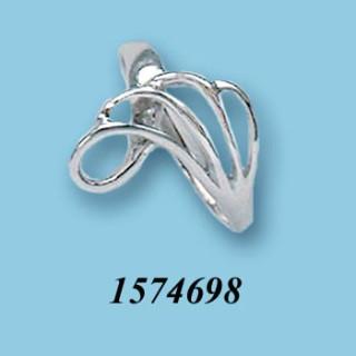 Strieborný prsteň 1574698