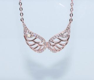 Dámsky náhrdelník anjelské krídla 308312